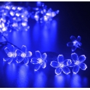 Ocean Blue Peach Blossom 50 Pics 23ft Solar String Kit