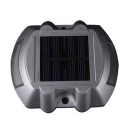 Cast Aluminum Super Bright 6 LED Solar Deck Light with Yellow Light
