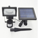 Smart Solar Powered Motion Sensor 60 LED Floodlight Security Lighting