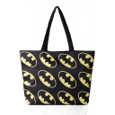 Women Cartoon Print Street Style Shoulder Shopping Bags