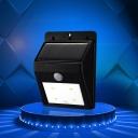 ABS 4 LED Solar Motion Sensor Bright Deck/Step Light