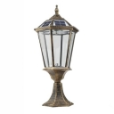 Solar 21'' H Old Bronze LED  Wireless Post Garden Light in Traditional Style