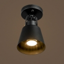 8'' W Matte Black Finish LED Spotlight/Ceiling Light