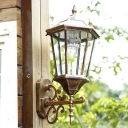 Antique Bronze Super Bright 20'' H Solar LED Outdoor Wall Lantern