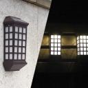 Single LED Bright Illumination Plastic Nature Power Yard Deck/Step Lghting