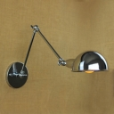 1 Light LED Wall Sconce In Polished Nickel