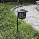 30 Inches High Solar Powered LED Lantern Bug Killer Garden Stake Pathway Lighting