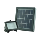 Super Bright 48 LED Black Solar Powered Exterior Garden Flood Light
