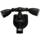 Motion Sensor 38 Leds Garage Adjustable Double Head  Wall Mount Outdoor Solar Security Lighting