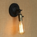 Vintage 1 Light LED Wall Sconce in Bronze