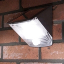 Stainless Steel Base Super Bright LED Solar Motion Sensor Burglary Resistant Wedge Outdoor Step Light