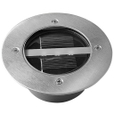 Stainless Steel Path Makers Decoration Solar Deck Light with 3 LED