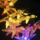 Starfish 20 LEDs 17ft Solar Powered Waterproof Holiday Decorative String Lighting