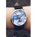 World Map Women's Watches