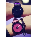Fashionable Casual Women Leather Quartz Watch