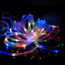 Multi Color 100 LEDs 40ft Solar Power Decorative Garden Landscape LED Rope Lighting