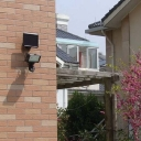 Motion Sensor 60 LED Super Bright Outdoor Flood Light Security Wall Mount