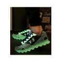 Outdoor / Athletic / Casual Flame Pattern Luminous Fluorescent Sports Shoes Sneakers