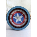 Vintage Super Hero Captain America Alarm Clock