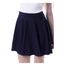 Fashion Women A-line Swing Mini Skirt