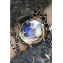Vintage World Map Women's Watches
