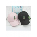 Hot New Release Cactus Pattern Women Outdoor Leisure Fashion Summer Baseball Caps