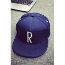 Letter Print Outdoor Hats Baseball Ball Cap