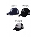 Letter Print Women Outdoor Baseball Hat