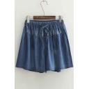 Chic Loose Denim High Waist Shorts