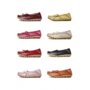 Women's Driving Shoes Lace-Up Loafers Flats Shoes