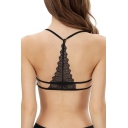 Women's Sexy Lace Strap Backless Wrapped Chest Shirt Tank Crop Top New