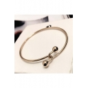 Simple Fashion Girl's Alloy Bracelet