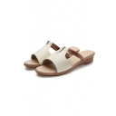 Women's Fashion Summer Color Block Non-slip Sandals
