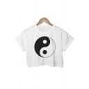 Women's TAI CHI T Shirt Casual Basic Tee