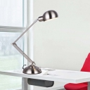 Polished Nickel 1 LED Light Chic Desk Reading Lamp for Kids