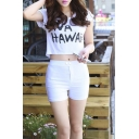Women's Summer Casual Plain Hot Shorts