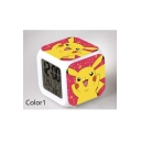Cute Colorful Cartoon Print LED Alarm Clock Timer