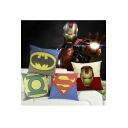 Justice League Cotton And Linen Cushion Cover Car Cushion Pillowslip