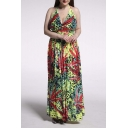 Women's Halter Sexy Maxi Dress Evening Gown Plus Size