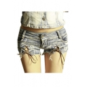 Women Denim Junior Trim Night Hot Pants Shorts