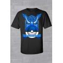 Fashion Short Sleeve Print T-shirt