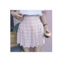 Sweet High Waist Girl's A-Line Mini Chic Skirts