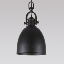 Dome Shade 1 Light Industrial Indoor LED Pendant Lighting