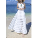 Women's Slim Beach Dress Casual Party Long Maxi Dresses