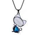Popular Alloy Crystal Cute Necklace