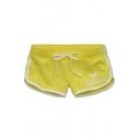 Women Drawstring Bottoms Shorts