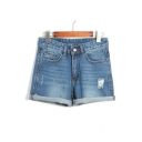 Women's Boyfriend Denim Short
