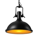 Industrial Style 1 Light Pendant 16'' Wide Indoor Pendant Commercial Lighting Fixture