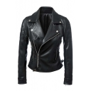 Cool Girl Zip Detail Side Tie Motorcycle Jacket