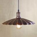 13.39'' Wide Single Light Barn Indoor LED Ceiling Light